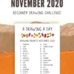 drawing prompts november 2020