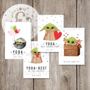 baby yoda card valentines day printables etsy last minute gift ideas