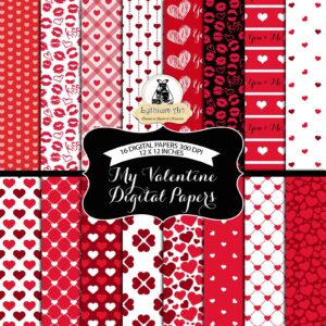 valentines day last minute gifts wrapping paper printable