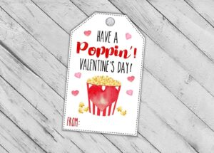 valentines day card printable etsy gift tag
