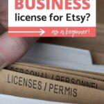 business license etsy pinterest