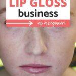 Lip gloss business Pinterest